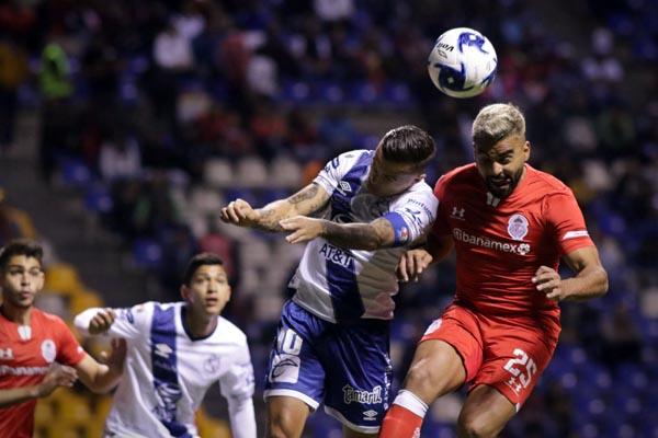 Puebla vuelve al triunfo: gana 2-0 a Toluca